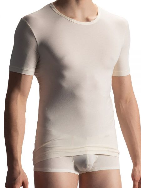 Olaf Benz PEARL1901: T-Shirt, creme