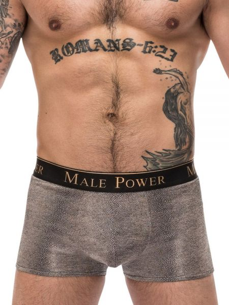 Male Power Viper: Pouch Short, grau