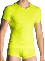 MANSTORE M200: Tactic V-Neck-Shirt, citro