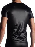 MANSTORE M816: V-Neck-Shirt, schwarz