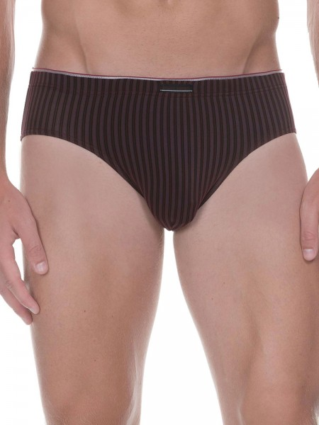 Bruno Banani Hair Stripes: Sportbrief, bordeaux