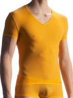 Olaf Benz RED0965: Phantom V-Neck-Shirt, sahara