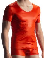 Olaf Benz RED1804: V-Neck-Shirt, copper