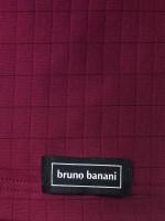 Bruno Banani Check Line: Tanktop, bordeaux