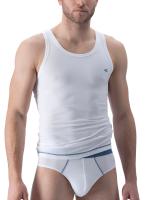 camel active Underwear 21: Sportshirt, weiß/denim
