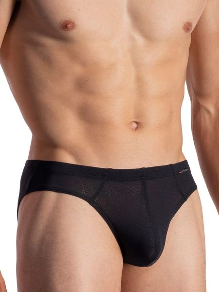Olaf Benz RED1950: Sportbrief, schwarz
