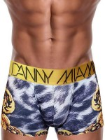 Danny Miami Leopard: Boxerpant, grau