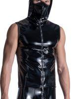 MANSTORE M2110: Zipped Vest, schwarz