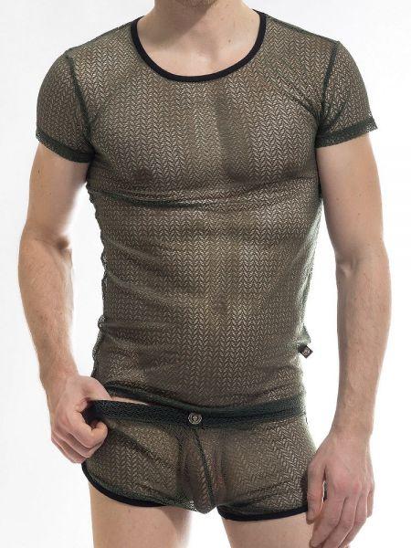 L'Homme Atlas: T-Shirt, army