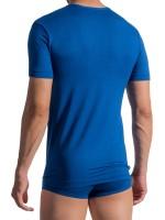 Olaf Benz PEARL1756: V-Neck-Shirt, royal