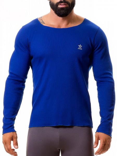 JOR Quebec: Long Shirt, blau