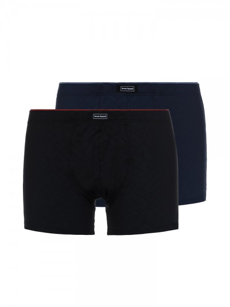 Bruno Banani Ceremony: Short 2er Pack, anthrazit/schwarz