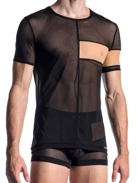 MANSTORE M668: Casual T-Shirt, schwarz