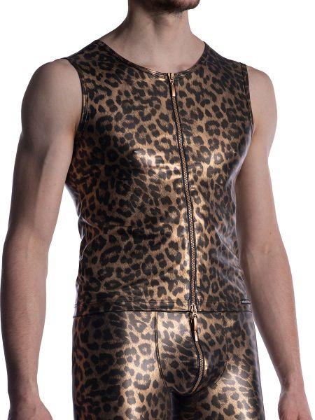 MANSTORE M2003: Zipped Vest, wild