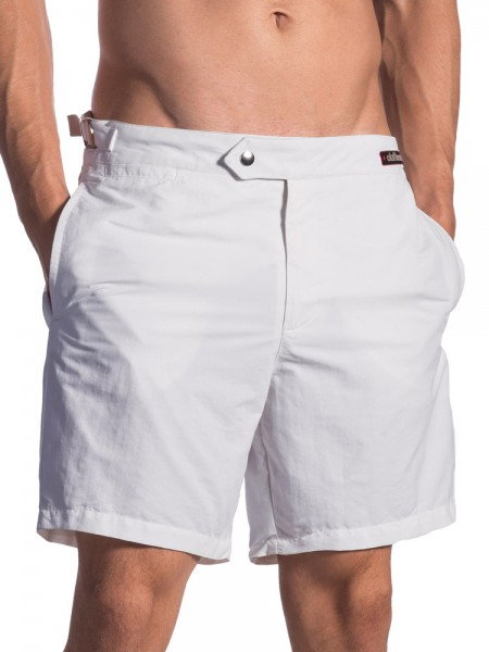 Olaf Benz BLU1662: Shorts, weiß