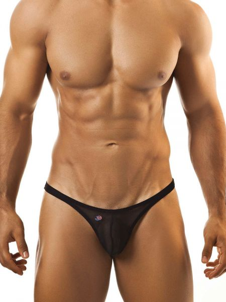 Joe Snyder Bulge01: Bikini Netz-Brief, schwarz