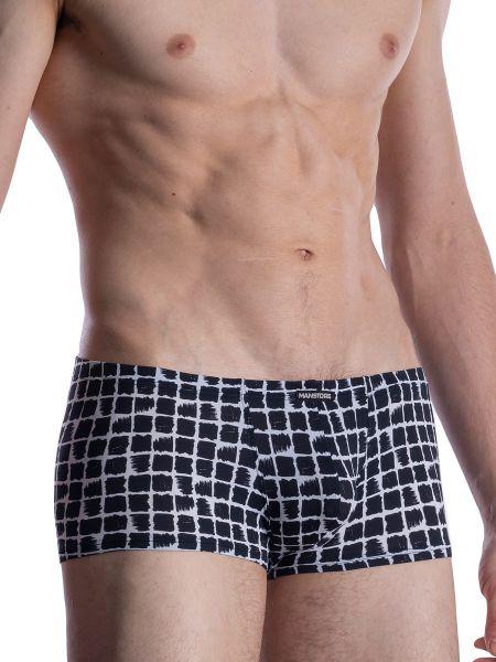 MANSTORE M800: Micro Pant, weiß/schwarz