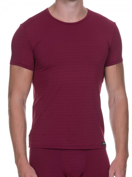 Bruno Banani Check Line: Shirt, bordeaux