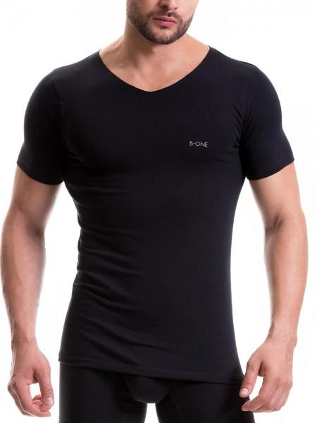 JOR B-One Fresh: T-Shirt, schwarz
