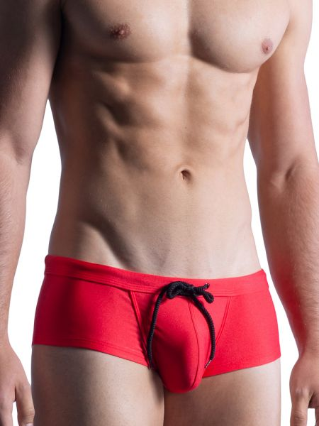 MANSTORE M859: Beach Hot Pant, rot