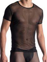 MANSTORE M863: Casual T-Shirt, schwarz