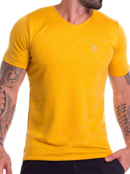 JOR Porto: T-Shirt, mustard