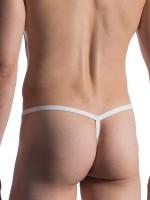 MANSTORE M800: Tarzan Strap, weiß