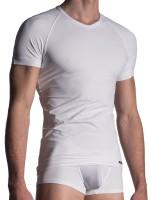 MANSTORE M200: Tactic V-Neck-Shirt, weiß