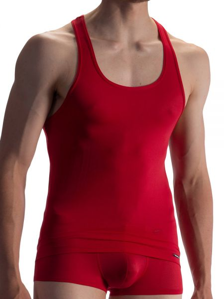 Olaf Benz RED1864: Athleticshirt, rot