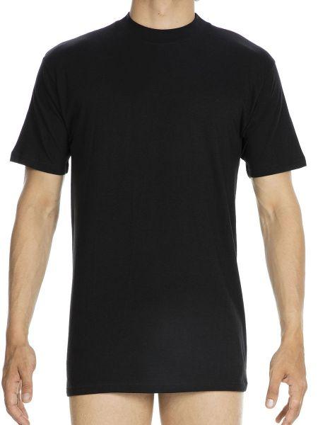 HOM Harro: T-Shirt, schwarz