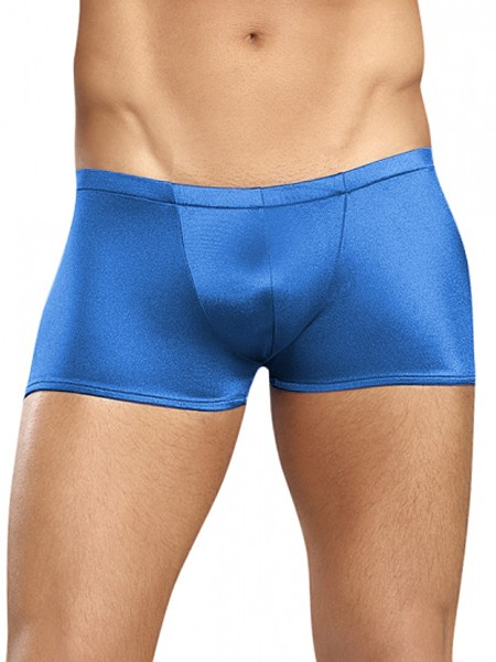 Male Power Satin: Low Rise Pant, royalblau