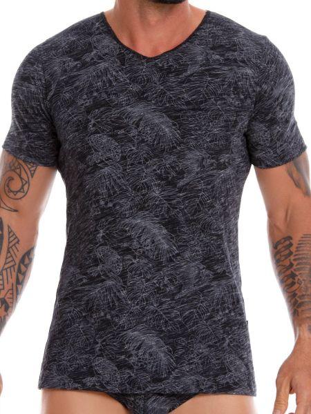 JOR Birds: T-Shirt, schwarz