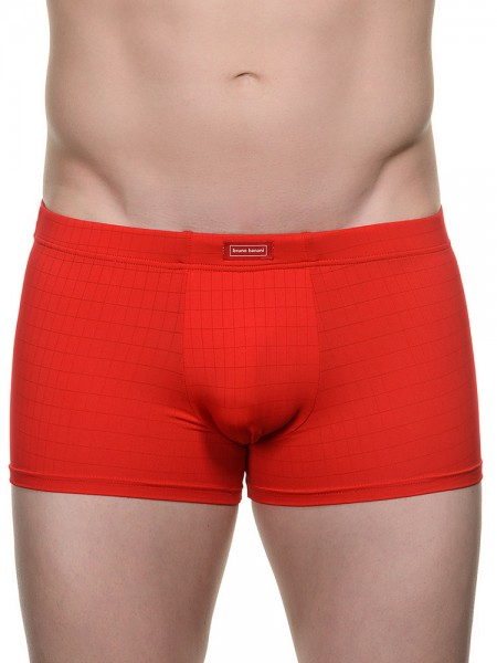 Bruno Banani Check Line: Short, rot