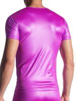 MANSTORE M816: V-Neck-Shirt, magenta