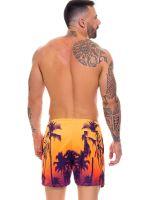 JOR Caribe: Bade-Short, orange/lila