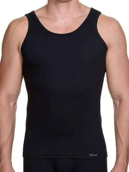 Bruno Banani Perfect Line: Sportshirt, schwarz
