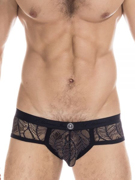 L'Homme Anton: Brief, schwarz