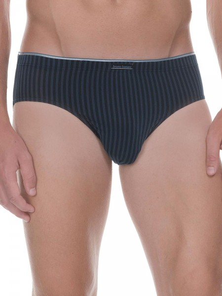 Bruno Banani Hair Stripes: Sportbrief, blau