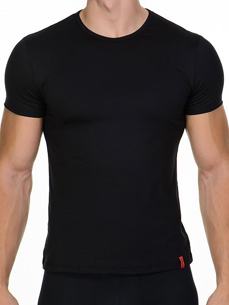 Bruno Banani Base Line: Shirt, schwarz