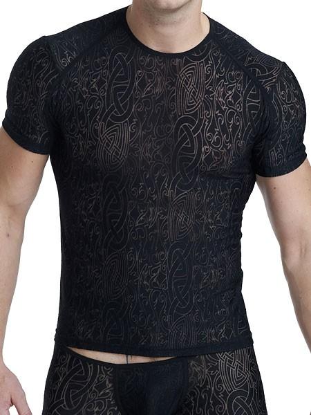 L'Homme Devoré Noir: T-Shirt, schwarz