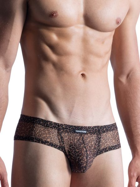 MANSTORE M855: Cheeky Brief, leopard