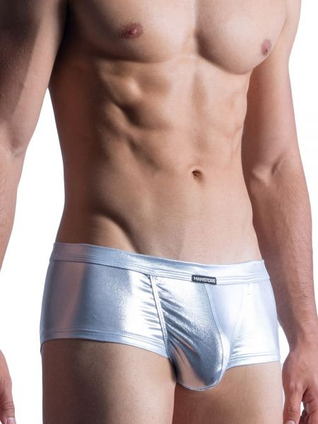 MANSTORE M861: Beach Hot Pant, silber