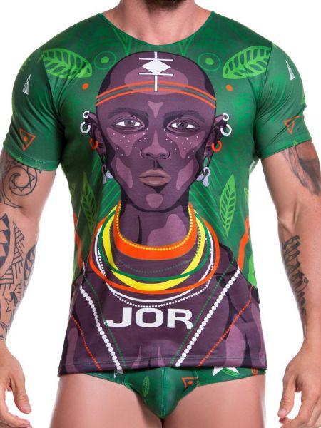 JOR Masai: T-Shirt, bunt