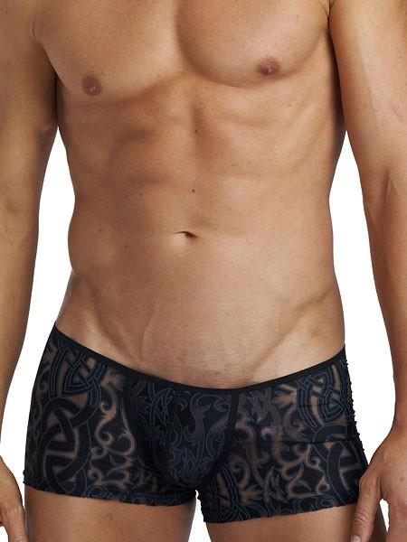 L'Homme Devoré Tattoo: Invisible Boxer, schwarz