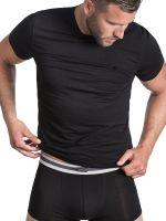 camel active Underwear 20: T-Shirt 2er-Pack, schwarz