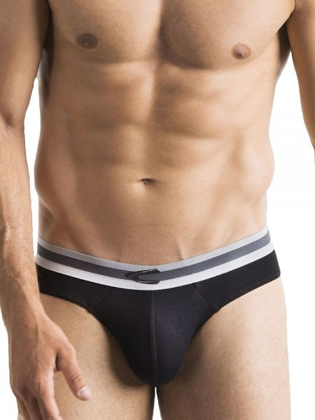 camel active Underwear 33: Brief 3er Pack, schwarz