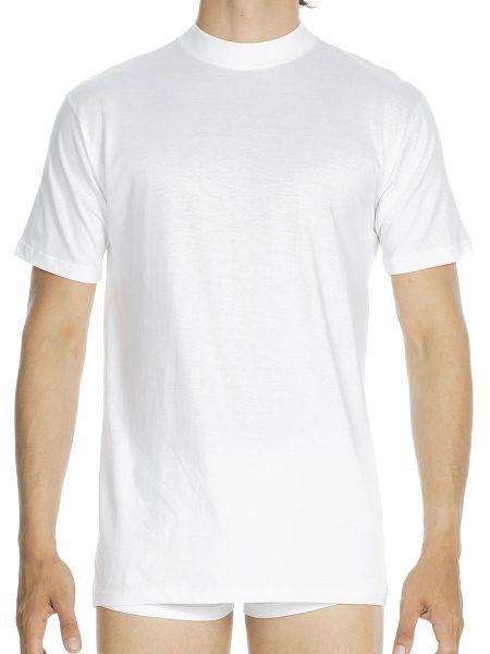 HOM Harro: T-Shirt, weiß
