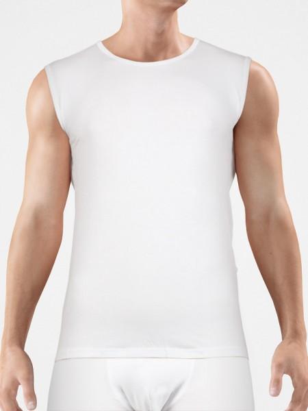 Bangert: Muscleshirt, weiß