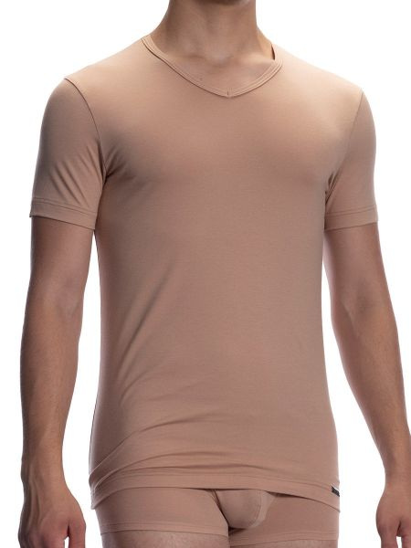 Olaf Benz RED1601: V-Neck, skin