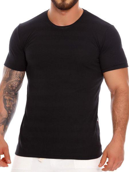 JOR Zeppeling: T-Shirt, schwarz